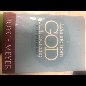 Hearing from God hardback by Joyce Meyer